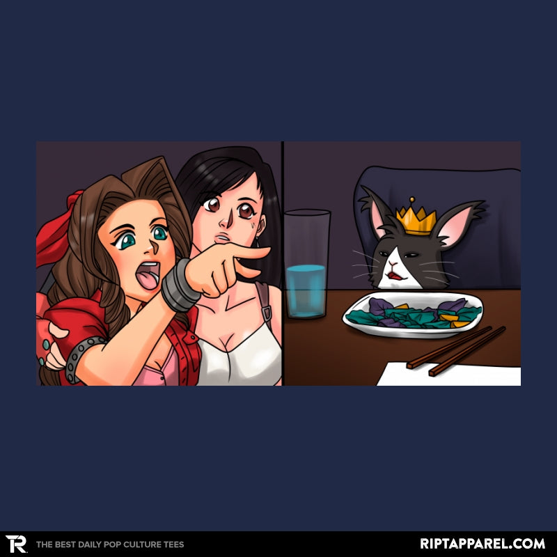 Tifa Yelling At A Cait Sith - Collection Image - RIPT Apparel