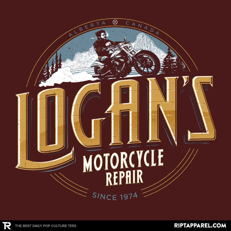 Logan's Motorcycle Repair - Collection Image - RIPT Apparel