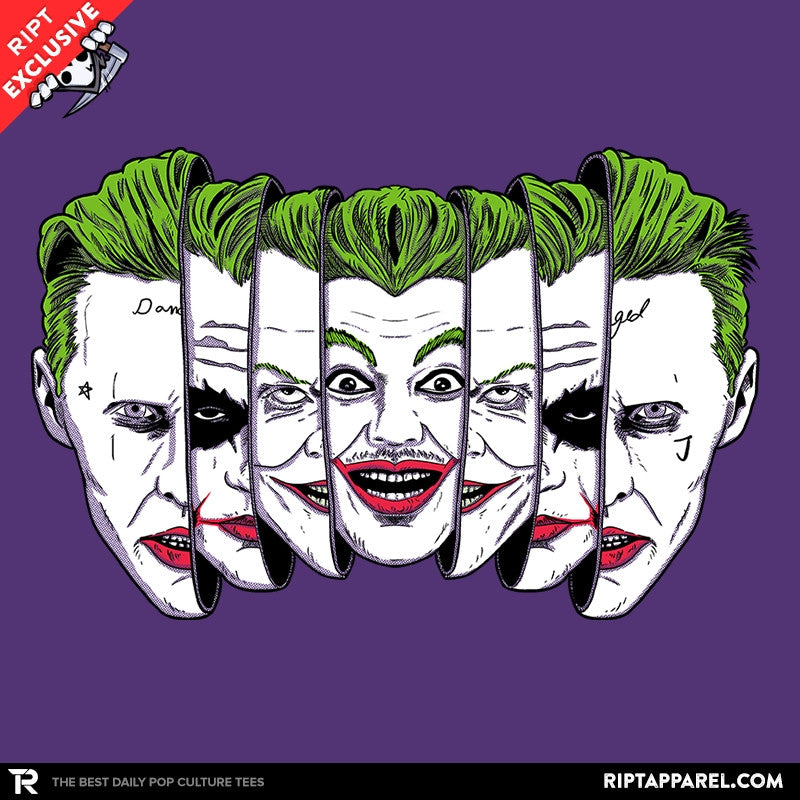 The Joke Has Many Faces Exclusive - RIPT Apparel