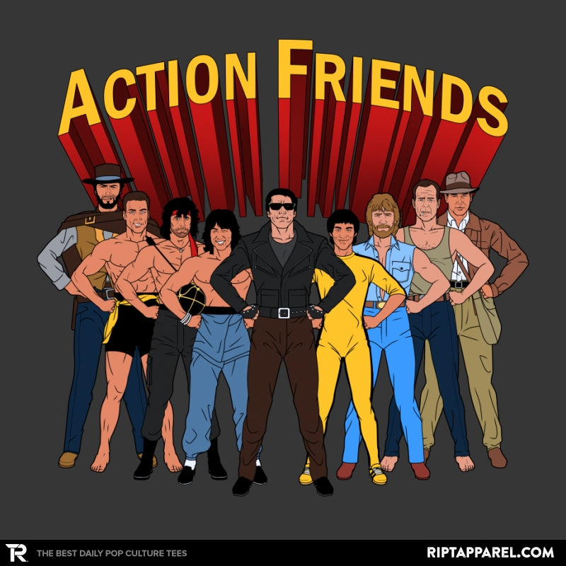 Action Friends - Collection Image - RIPT Apparel