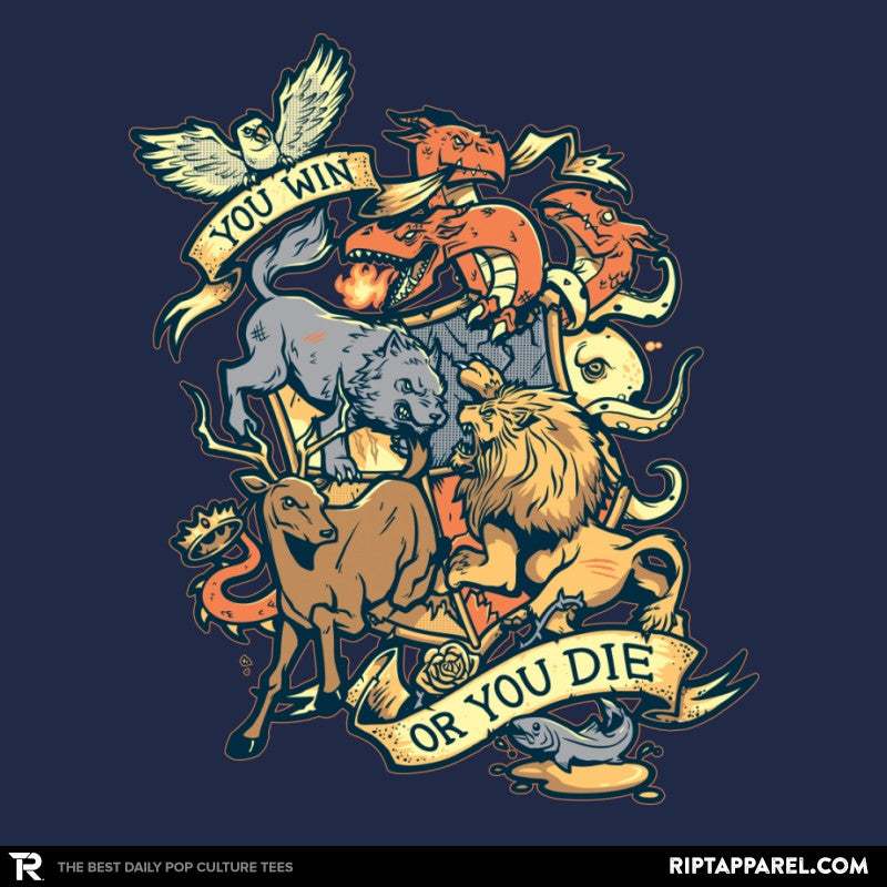 Win or Die - Game of Shirts - RIPT Apparel
