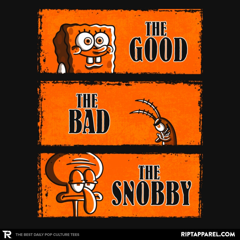 The Good, The Bad and The Snobby - Collection Image - RIPT Apparel