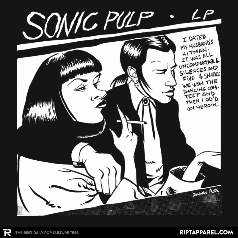 Sonic Pulp - Record Collector - Collection Image - RIPT Apparel