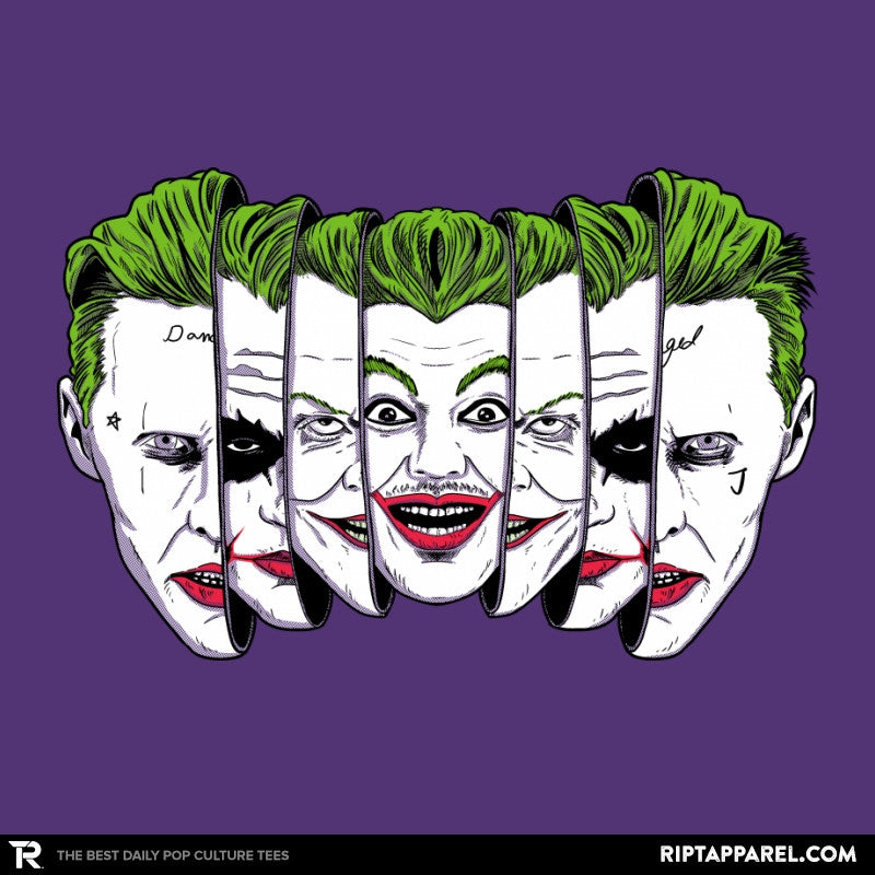 The Joke Has Many Faces Reprint - Collection Image - RIPT Apparel