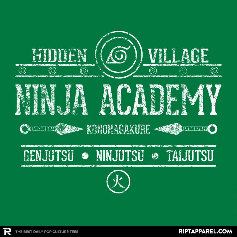 Ninja Academy Exclusive - Anime History Lesson - RIPT Apparel