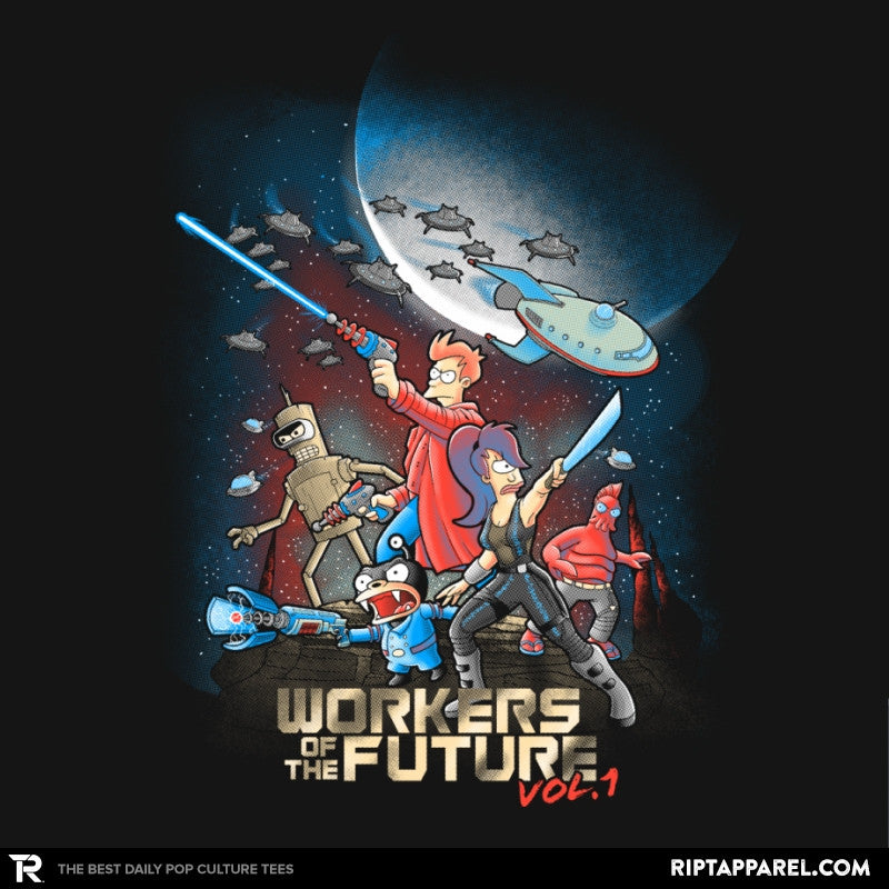 Workers of the Future vol 1 - Collection Image - RIPT Apparel
