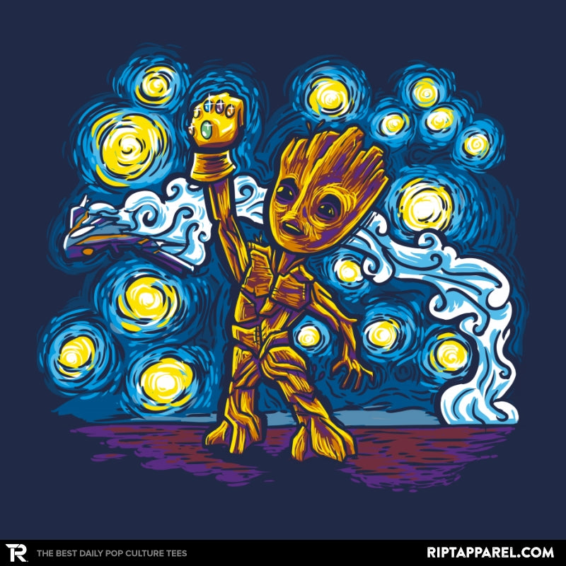 Starry Groot Exclusive - Collection Image - RIPT Apparel