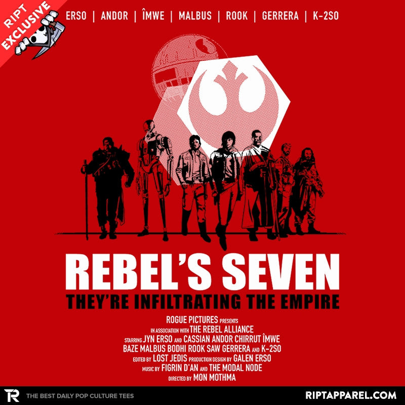 The Rebel's Seven Exclusive - Collection Image - RIPT Apparel