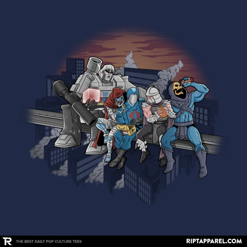 Villains Atop A Skyscraper - Collection Image - RIPT Apparel