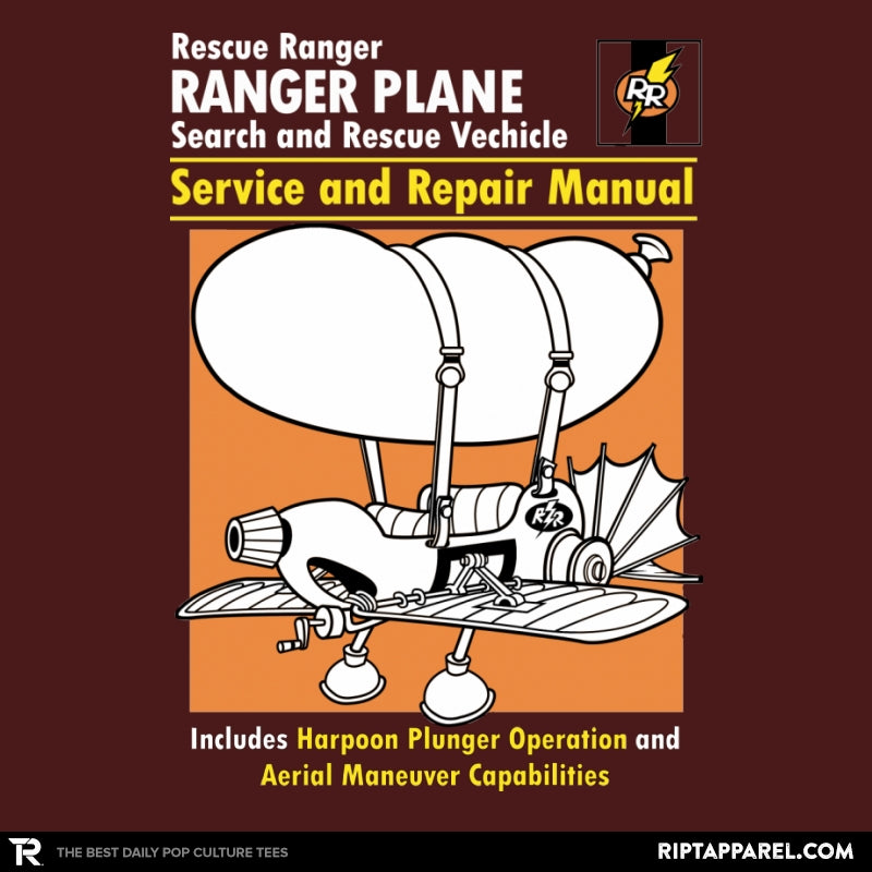 Rescue Plane Manual - Collection Image - RIPT Apparel