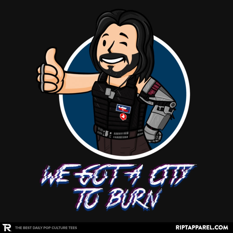 WE GOT A CITY TO BURN - Collection Image - RIPT Apparel