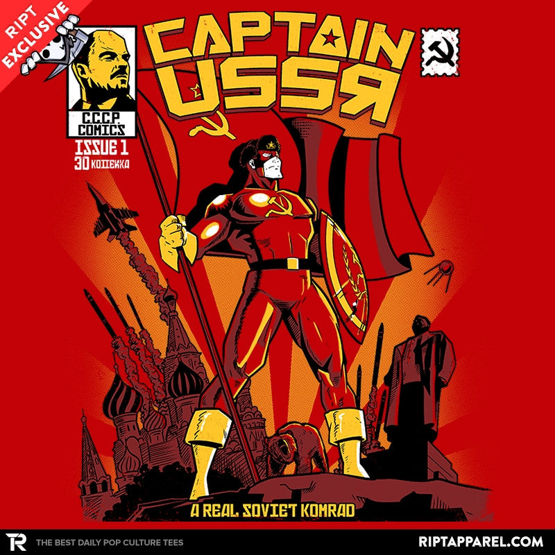 Captain USSR: Issue 1 Exclusive - RIPT Apparel