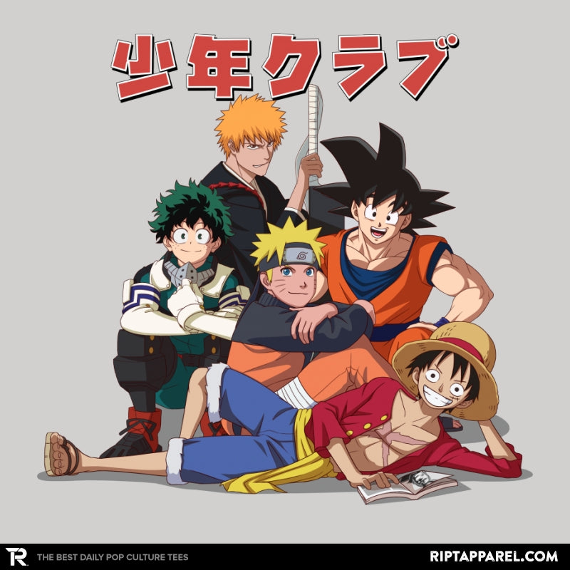 The Shonen Club - Collection Image - RIPT Apparel