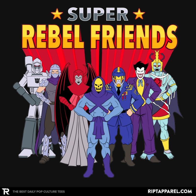 Super Rebel Friends - Collection Image - RIPT Apparel