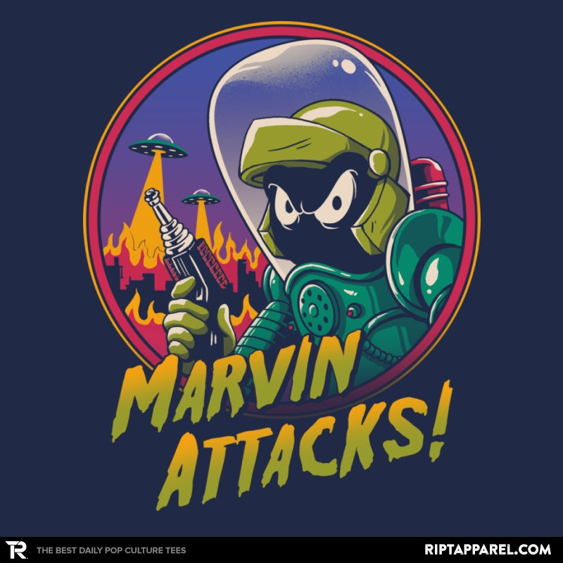 Marvin Attacks! - Collection Image - RIPT Apparel