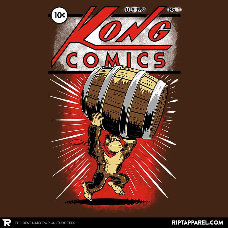 Kong Comics - Collection Image - RIPT Apparel