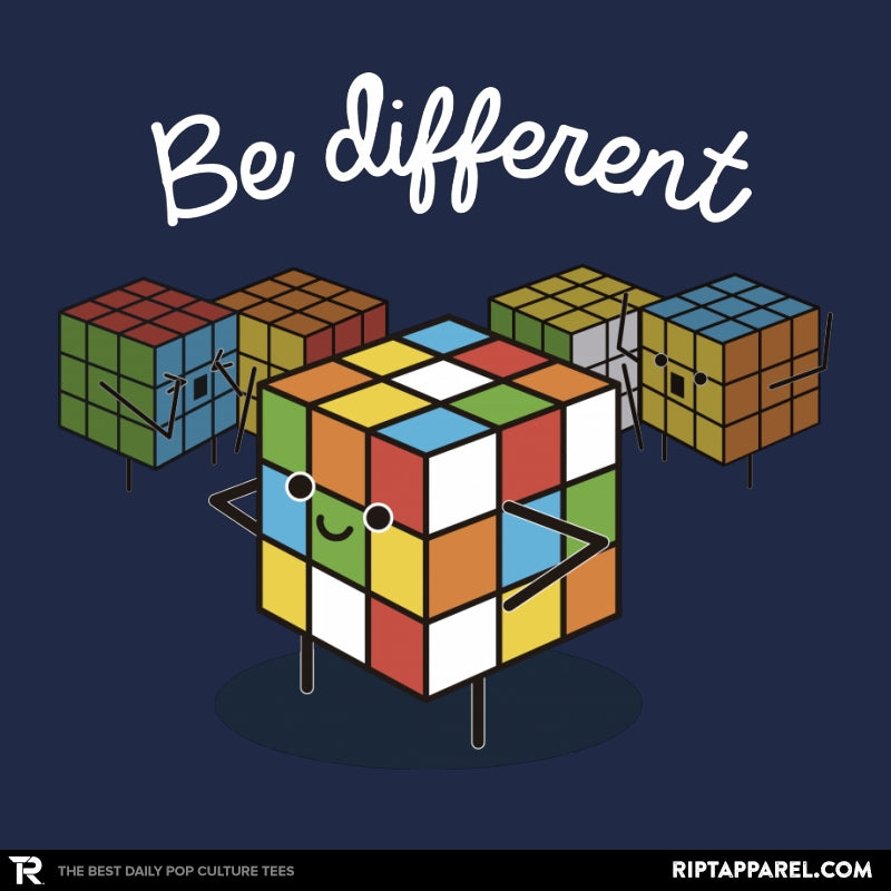 Be different - RIPT Apparel