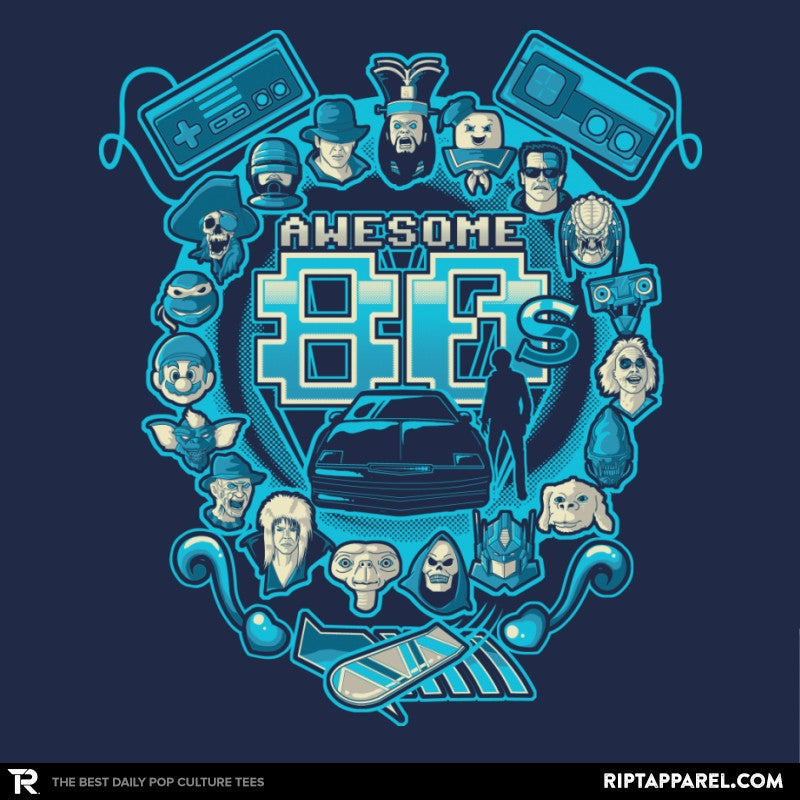 Awesome 80s Reprint - RIPT Apparel