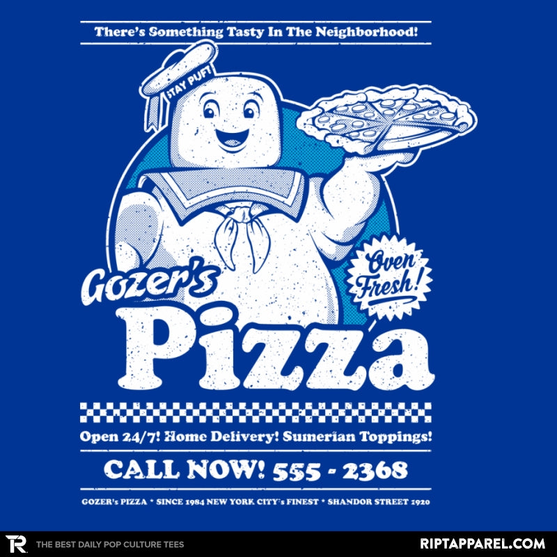Gozer's Pizza - RIPT Apparel