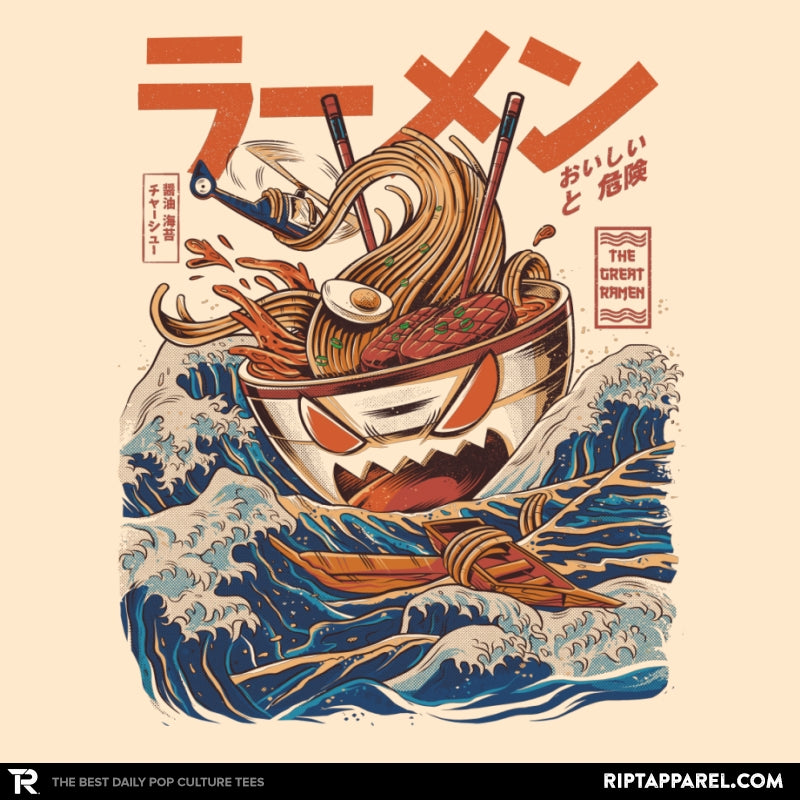 Great Ramen off Kanagawa - Best Seller - RIPT Apparel