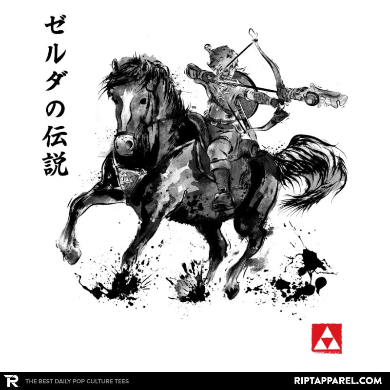 Wild Hunter Sumi-e - Sumi Ink Wars - Collection Image - RIPT Apparel