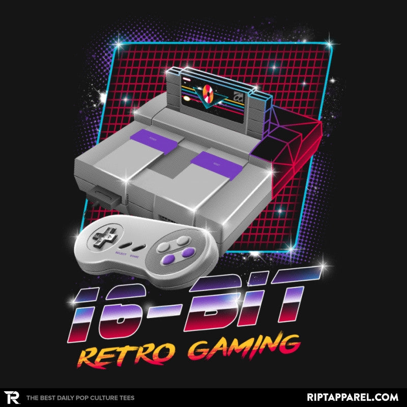 16-Bit Retro Gaming - Collection Image - RIPT Apparel