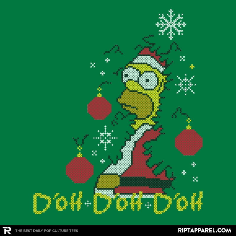 D'oh D'oh D'oh Santa Edition - Collection Image - RIPT Apparel