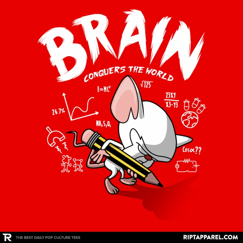 Brain Conquers The World! - Raffitees - Collection Image - RIPT Apparel