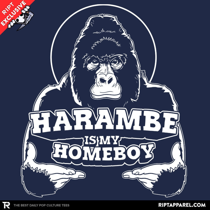 Harambe is my Homeboy - Collection Image - RIPT Apparel