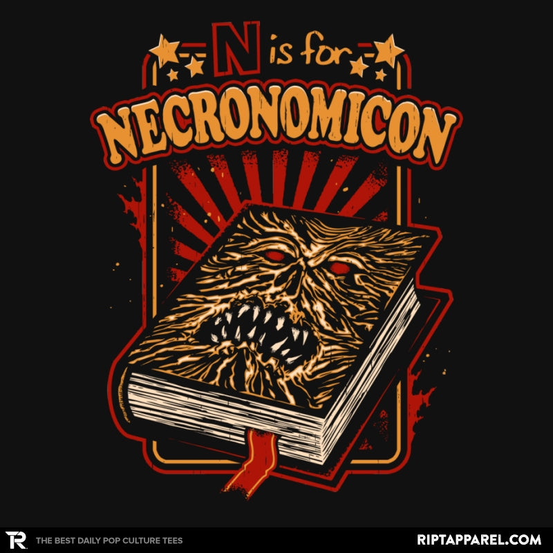 N is for Necronomicon - Collection Image - RIPT Apparel