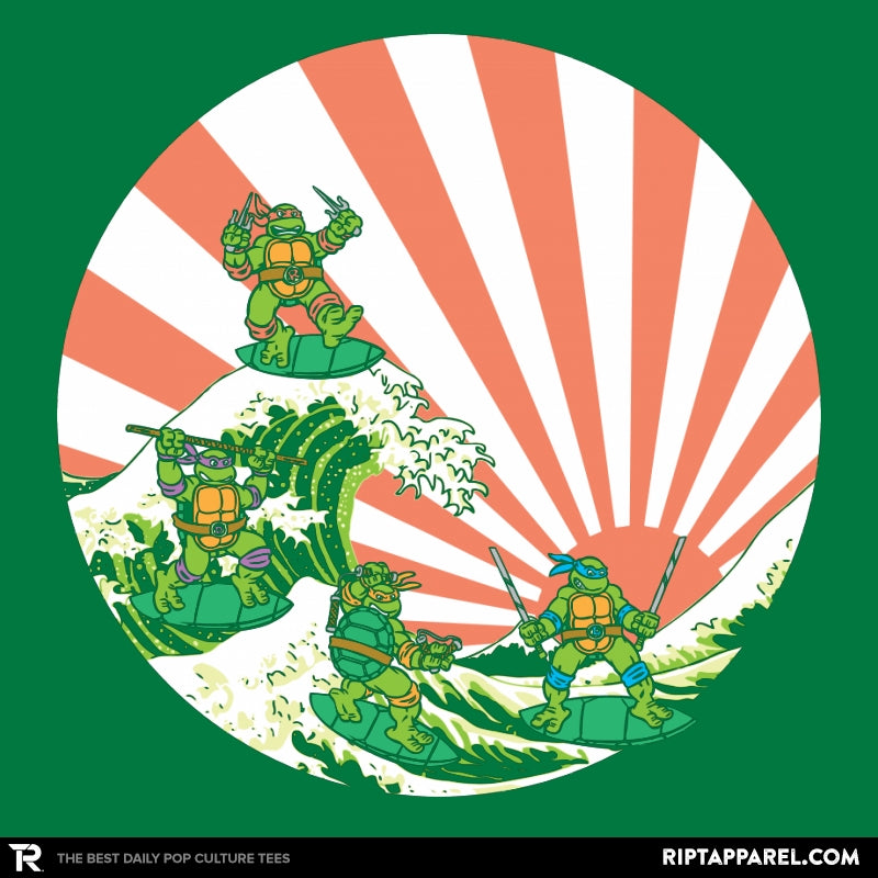 The Great Wave Off Cowabunga - Collection Image - RIPT Apparel