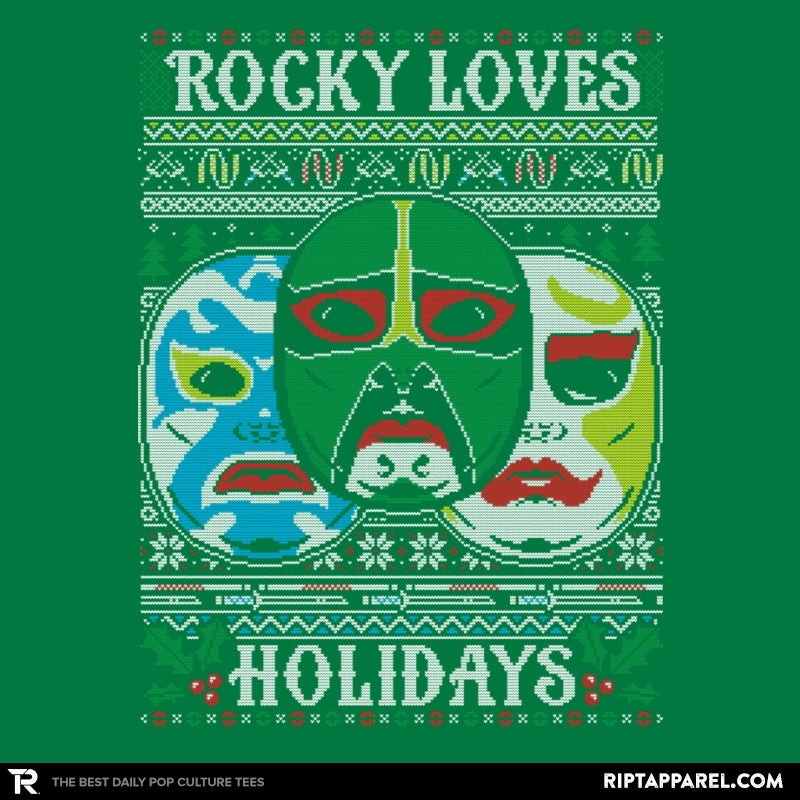 Rocky Loves Holidays - Ugly Holiday - Collection Image - RIPT Apparel