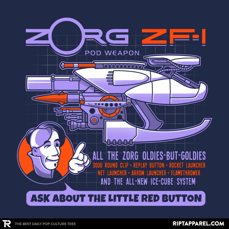 Ask About the Little Red Button - RIPT Apparel