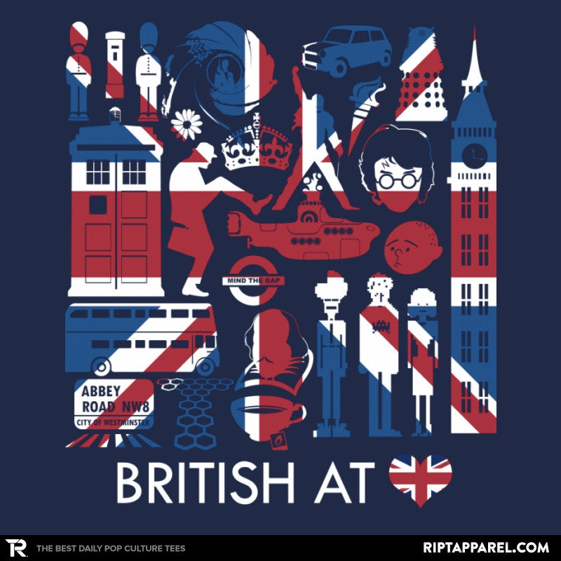 British At Heart Reprint - RIPT Apparel
