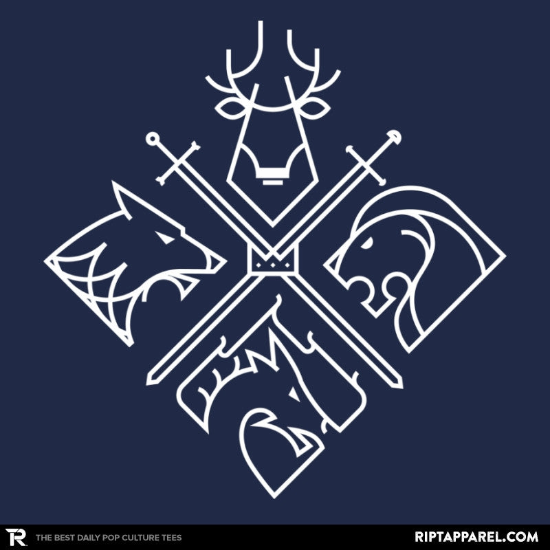 Minimal Thrones Reprint - RIPT Apparel