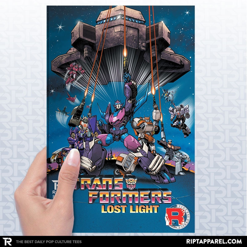 Transformers: Lost Light Issue 1 - Collection Image - RIPT Apparel