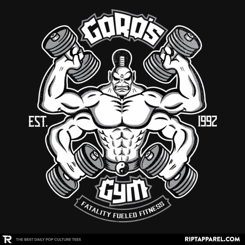 Goro's Gym 1992 - RIPT Apparel