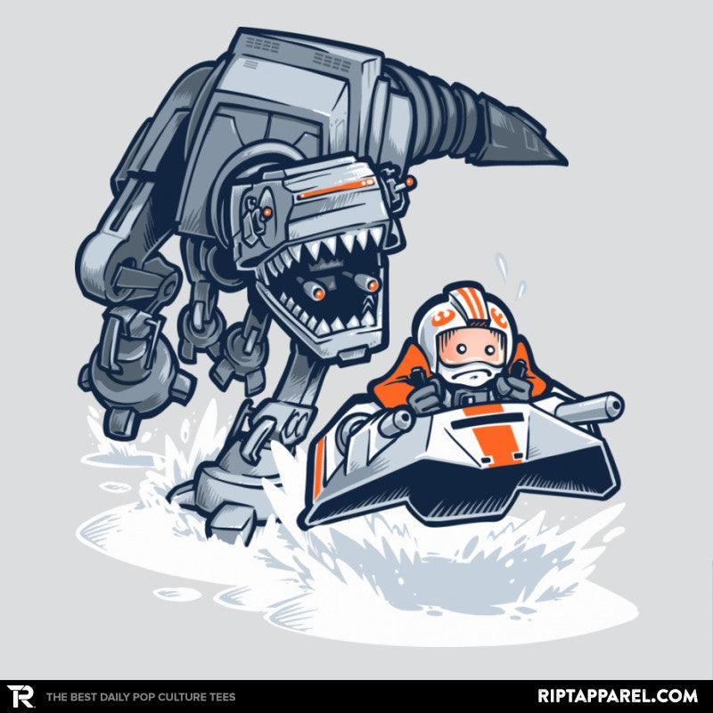 Jurassic Hoth - 80s Blaarg - Collection Image - RIPT Apparel