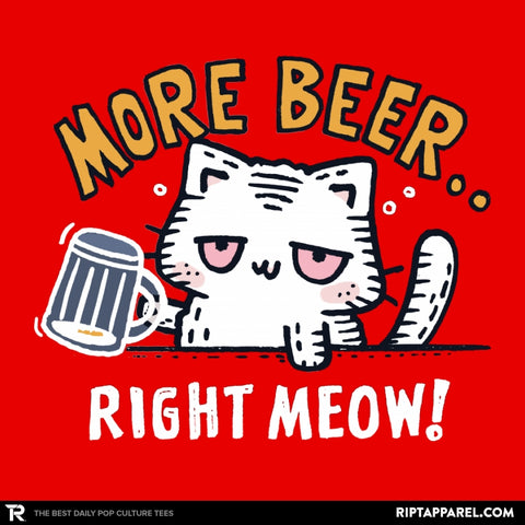 Beer Right Meow