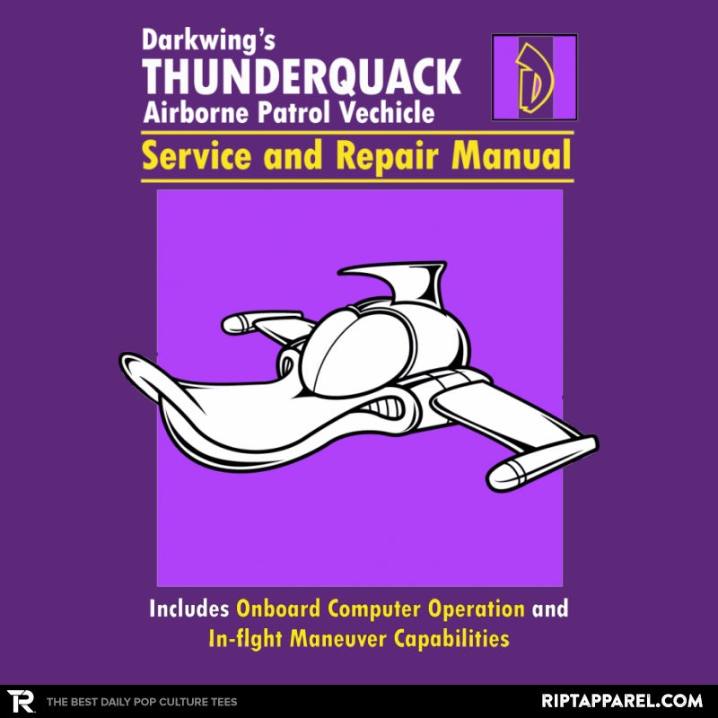 ThunderQuack Manual - RIPT Apparel