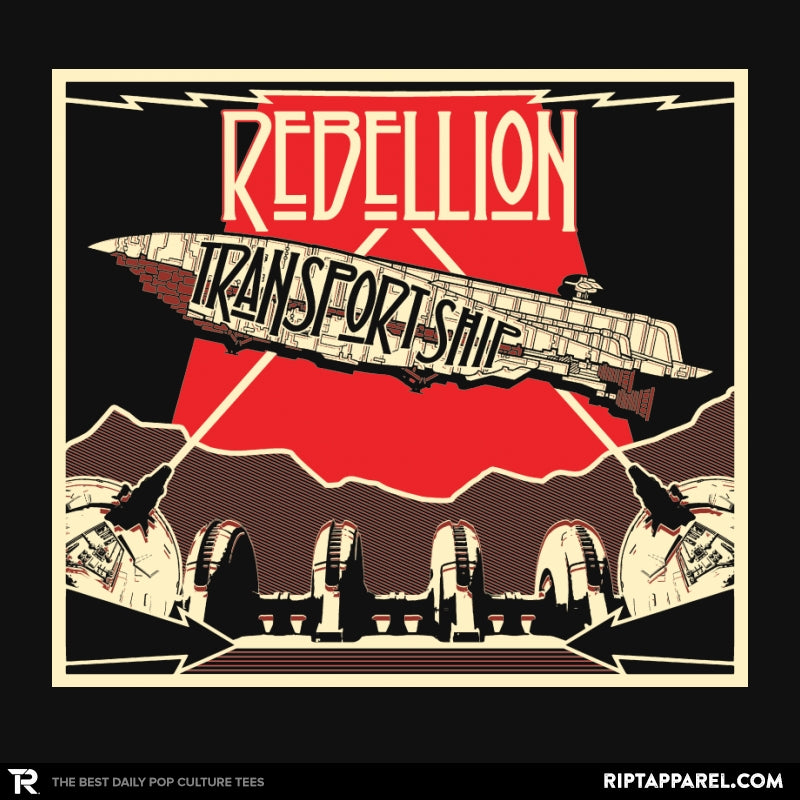 Rebellion - Transport Ship - Collection Image - RIPT Apparel