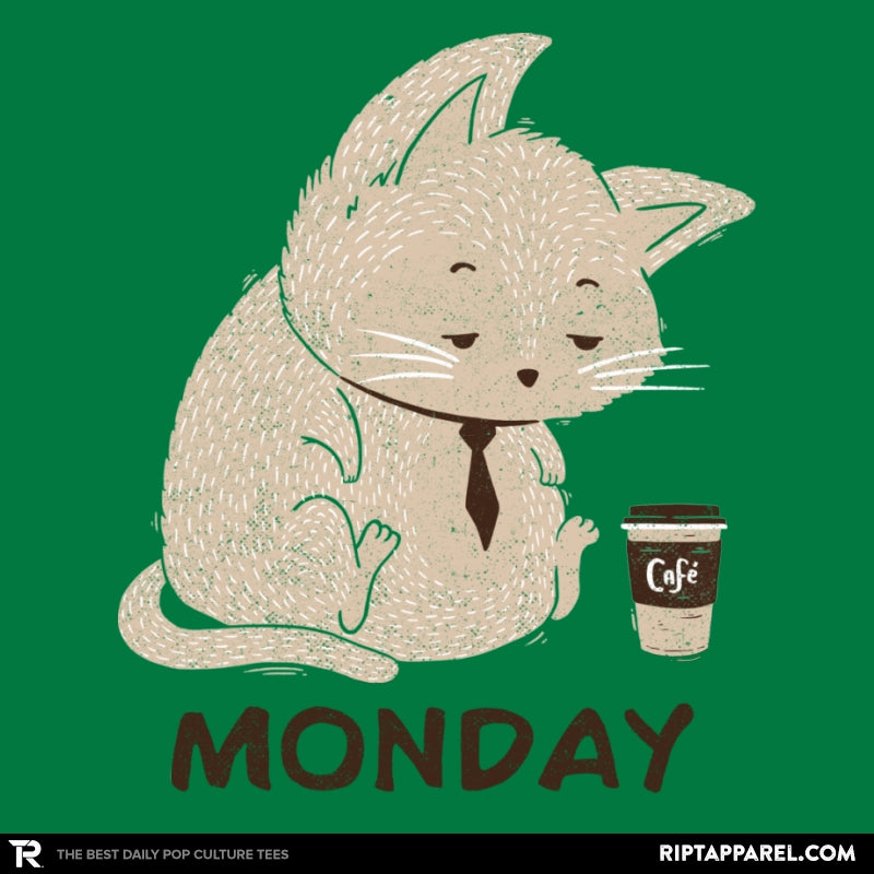 Monday Cat - RIPT Apparel