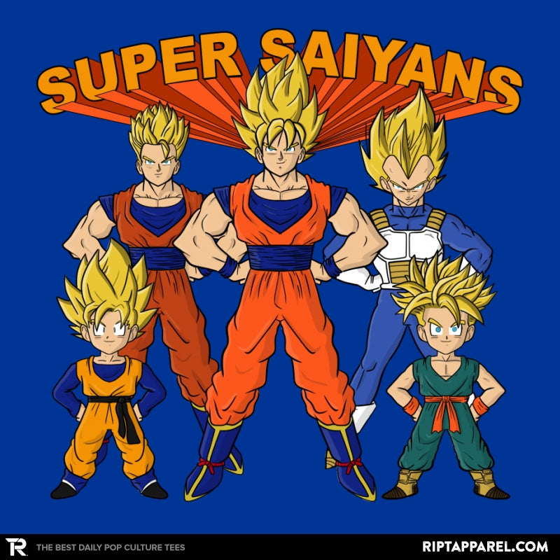 Super Saiyans - Collection Image - RIPT Apparel