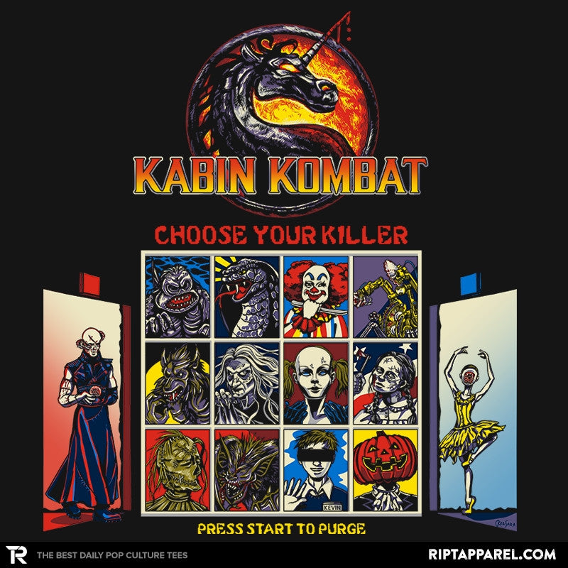Kombat in the Woods Exclusive - Dead Pixels - RIPT Apparel