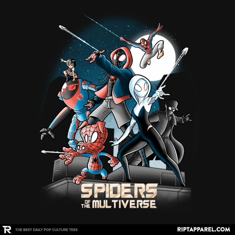 Spiders of the Multiverse - RIPT Apparel