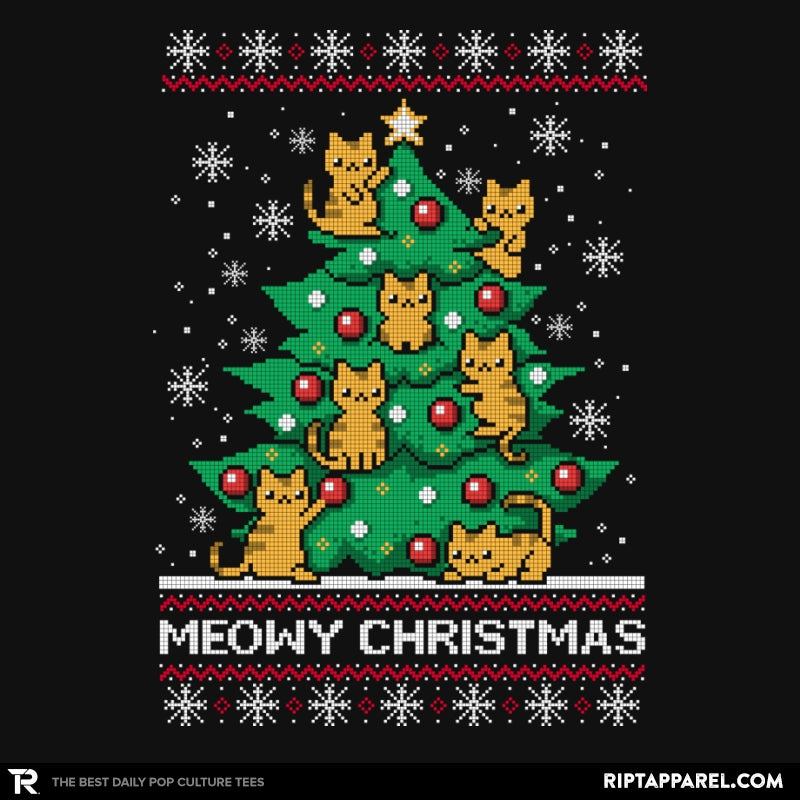 Meowy christmas - Ugly holiday - Collection Image - RIPT Apparel