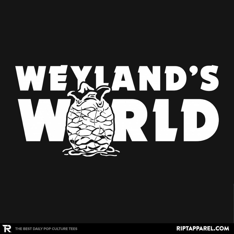 Weyland's World - Extraterrestrial Tees - Collection Image - RIPT Apparel