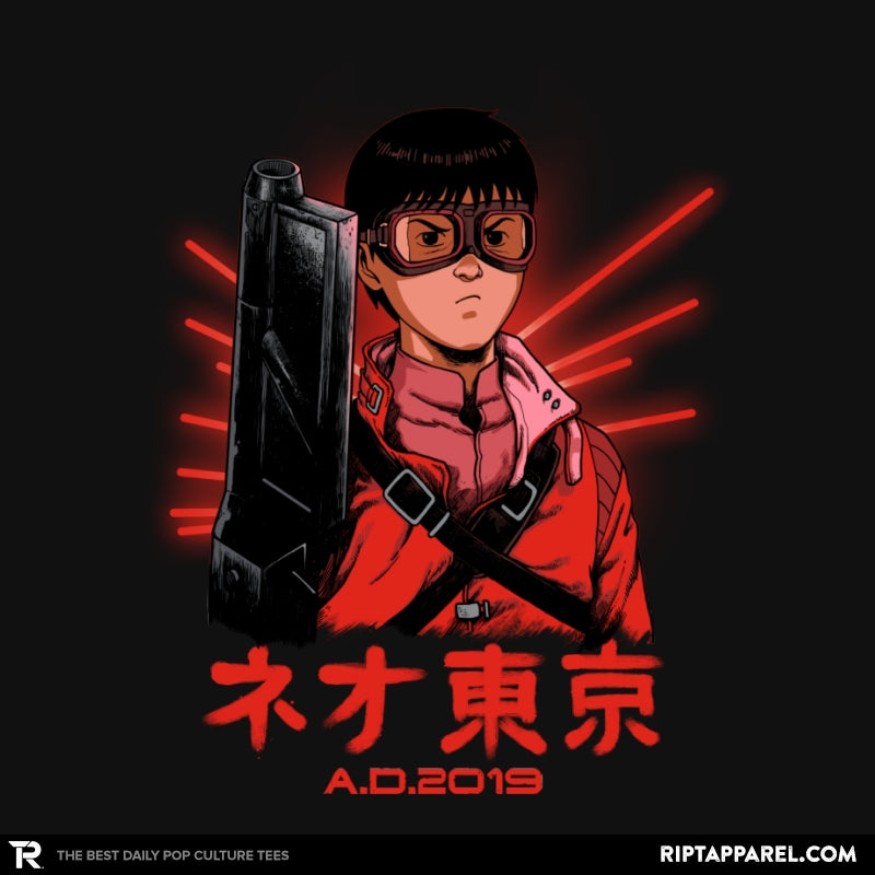 Neo Tokyo A.D. 2019 - Collection Image - RIPT Apparel