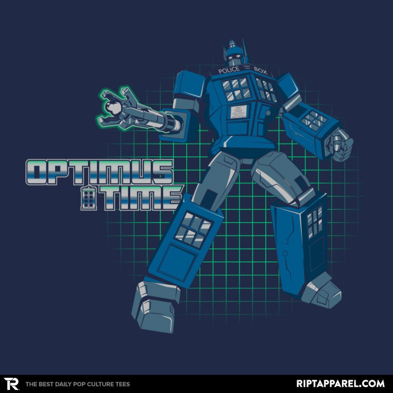 Optimus Time Reprint - Collection Image - RIPT Apparel