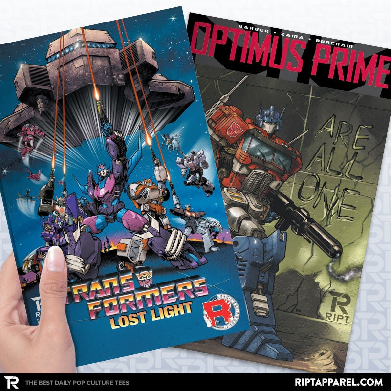 Transformers Comic Bundle - Collection Image - RIPT Apparel